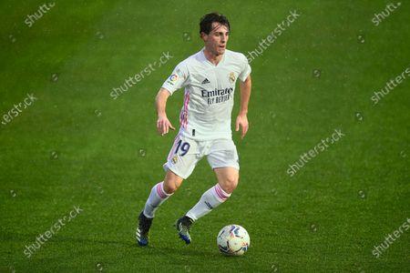 Alvaro Odriozola of Real Madrid