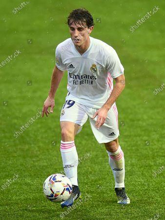 Stock Image of Alvaro Odriozola of Real Madrid