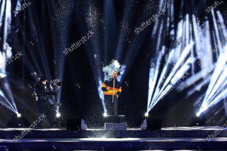 The singer Francesco Gabbani guest of the opening ceremony