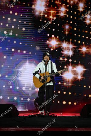 Gianna Nannini performs during the opening ceremony