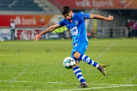 Gent's Milad Mohammadi pictured in action during a soccer match between KAA Gent and KAS Eupen, Sunday 07 February 2021 in Gent, on day 24 of the 'Jupiler Pro League' first division of the Belgian championship.