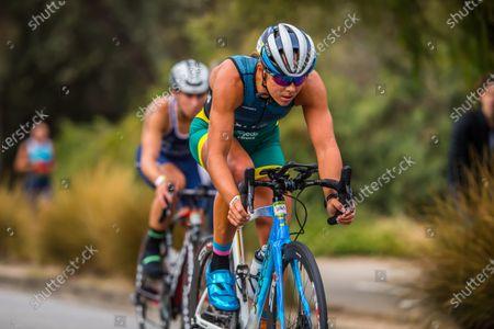 Editorial picture of 2XU Triathlon Series 2021 in Melbourne, Australia - 31 Jan 2021