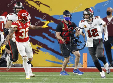 Editorial image of Super Bowl LV, Raymond James Stadium, Tampa, Florida, USA - 07 Feb 2021