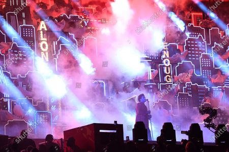 Editorial picture of Super Bowl LV, Halftime Show, Tampa, Florida, USA - 07 Feb 2021