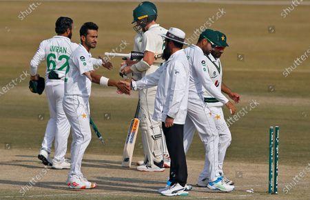 Editorial image of South Africa Cricket, Rawalpindi, Pakistan - 08 Feb 2021