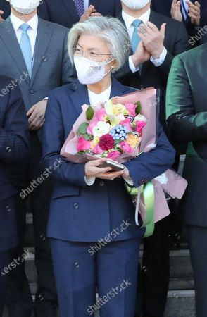 Editorial picture of Foreign Minister Kang Kyung-wha leaves office, Seoul, Korea - 08 Feb 2021