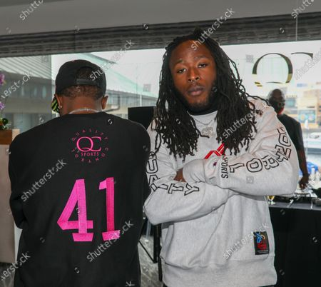 Editorial picture of Exclusive - QC Sports presents The Pre Game brunch, Jackson's Bistro, Bar & Sushi, Tampa, Florida, USA - 06 Feb 2021