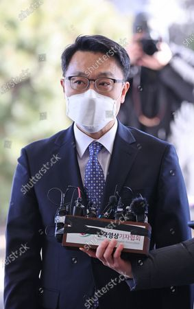 Editorial image of Corruption investigation body's chief meets top prosecutor, Seoul, Korea - 08 Feb 2021