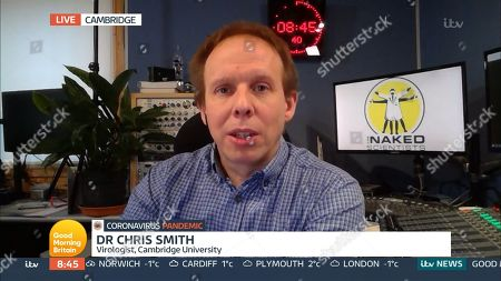 Stock Image of Dr Chris Smith