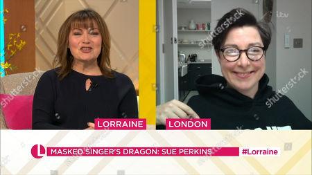 Editorial image of 'Lorraine' TV Show, London, UK - 08 Feb 2021