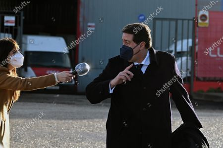 Editorial image of First session of trial over PP's illegal funding, San Fernando De Henares, Spain - 08 Feb 2021