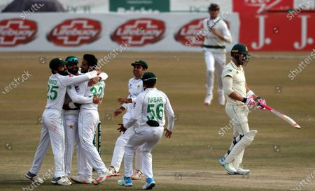 Editorial picture of Cricket Test Pakistan vs South Africa, Rawalpindi - 08 Feb 2021