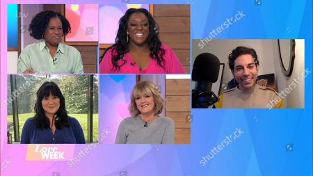 Charlene White, Judi Love, Coleen Nolan, Jane Moore and Tom Read Wilson