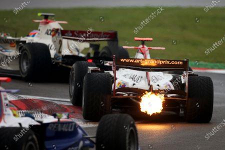 Stock Picture of Nico Hulkenberg (GER) ART Grand Prix.GP2 Series, Rd 5, Race 2, Nurburgring, Germany, Sunday 12 July 2009.