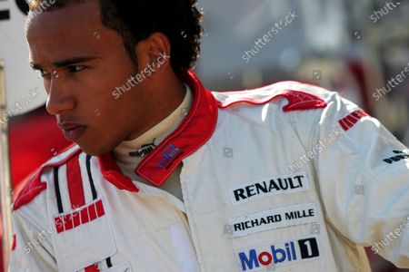 Lewis Hamilton (GBR) ART Grand Prix.