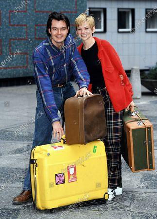 Grant Stott and Zoe Ball 1995