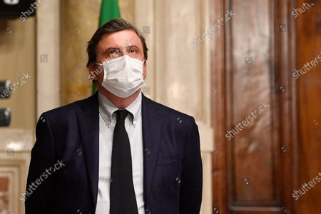 Editorial photo of Second round of consultations by Prime Minister Mario Draghi with the parliamentary groups Azione, + Europa Radicali Italiani, Rome, Italy - 08 Feb 2021