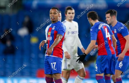Crystal Palace defender Nathaniel Clyne (17)  during the Premier League match between Leeds United and Crystal Palace at Elland Road, Leeds