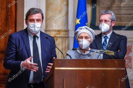 Editorial picture of Government crisis, Rome, Italy - 08 Feb 2021