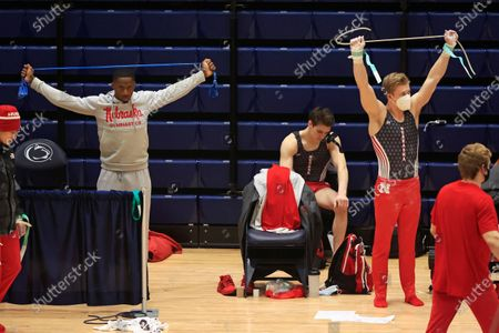 Editorial image of Nebraska Penn St Gymnastics, University Park, United States - 07 Feb 2021