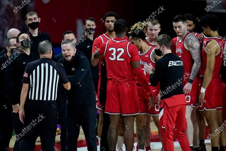 Editorial image of Ohio State Maryland Basketball, College Park, United States - 08 Feb 2021