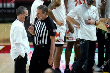 Editorial picture of Ohio State Maryland Basketball, College Park, United States - 08 Feb 2021