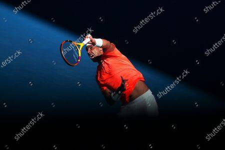 Editorial photo of Australian Open tennis tournament in Melbourne, Australia - 09 Feb 2021