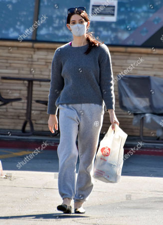 Ashley Greene is seen shopping for groceries