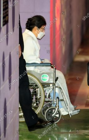 Editorial picture of South Korea's ex-president returns to detention center, Seoul - 09 Feb 2021