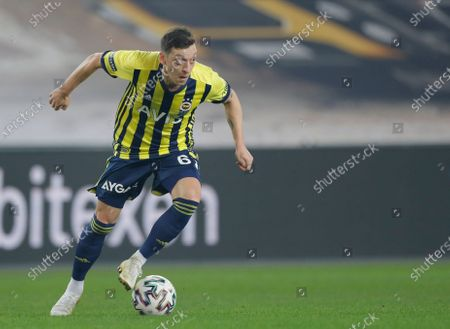 Fenerbahce's Mesut Ozil, of Germany during a Turkish Super League soccer match between Fenerbahce and Galatasaray in Istanbul, . Ozil, who is of Turkish descent and was formerly with Arsenal came in as a substitute on his first match with Fenerbahce. Galatasaray won the match 1-0