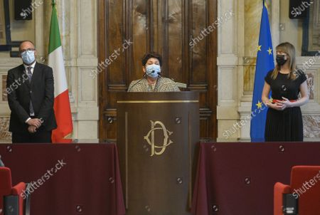 Editorial photo of Government crisis Draghi's second round of consultations for the formation of the new government., Rome, Italy - 09 Feb 2021