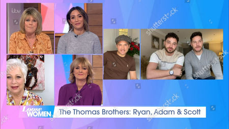 Editorial image of 'Loose Women' TV Show, London, UK - 09 Feb 2021