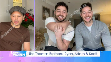 Stock Photo of Ryan Thomas, Adam Thomas and Scott Thomas