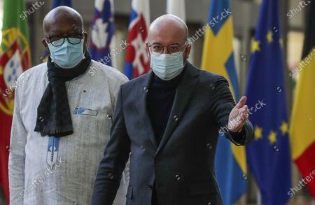 Editorial picture of EU Burkina Faso, Brussels, Belgium - 09 Feb 2021