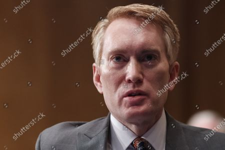 United States Senator James Lankford (Republican of Oklahoma), speaks during a Senate Homeland Security and Governmental Affairs Committee confirmation hearing for Neera Tanden, director of the Office and Management and Budget (OMB) nominee for U.S. President Joe Biden, in Washington, D.C., U.S.,. Tanden, who pledged to work with both parties after drawing sharp criticism from Republicans for sniping at them on social media, worked on the Affordable Care Act during the Obama years and was an aide to Hillary Clinton from her time as first lady.