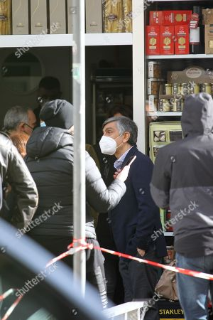 Editorial image of 'Con Tutto Il Cuore' on set filming, Naples, Italy - 08 Feb 2021