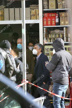Editorial photo of 'Con Tutto Il Cuore' on set filming, Naples, Italy - 08 Feb 2021