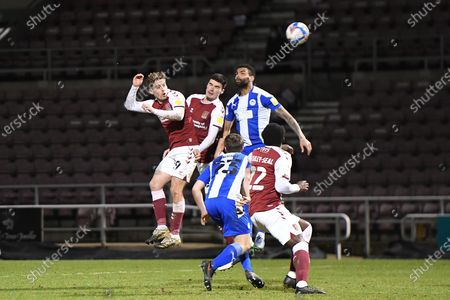 Editorial image of Northampton Town v Wigan Athletic, EFL Sky Bet League 1 - 09 Feb 2021