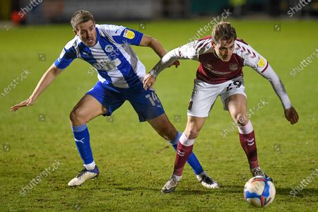 Editorial photo of Northampton Town v Wigan Athletic, EFL Sky Bet League 1 - 09 Feb 2021