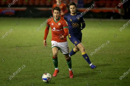 Walsall's Frank Vincent during the EFL Sky Bet League 2 match between Walsall and Mansfield Town at the Banks's Stadium, Walsall