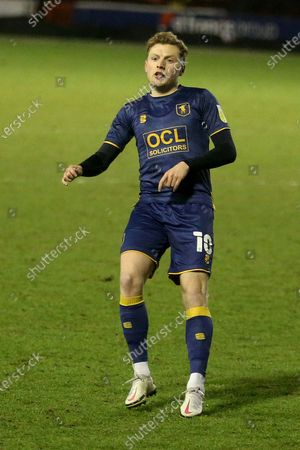 PORTRAIT  Mansfield Town's George Maris during the EFL Sky Bet League 2 match between Walsall and Mansfield Town at the Banks's Stadium, Walsall