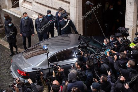 Editorial photo of Silvio Berlusconi in Rome, Italy - 09 Feb 2021