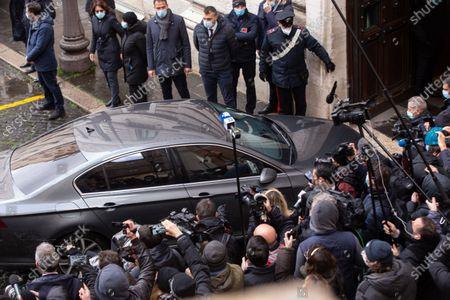Editorial image of Silvio Berlusconi in Rome, Italy - 09 Feb 2021