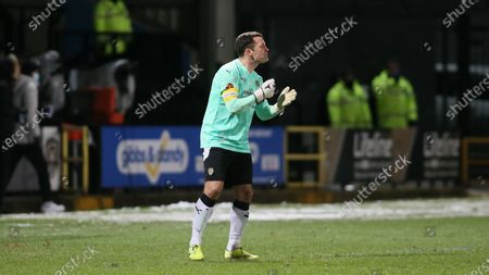 Michael Doyle issues instructions from the penalty area during the second half.
