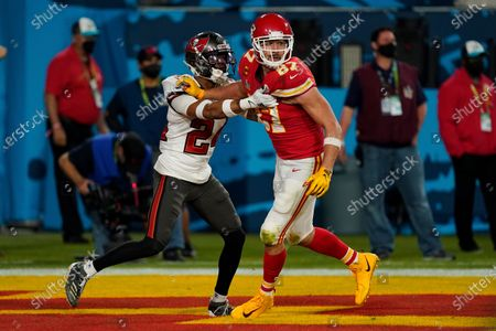 Editorial photo of Chiefs Buccaneers Super Bowl Football, Tampa, United States - 07 Feb 2021