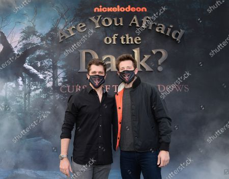 Editorial photo of Nickelodeon's 'Are You Afraid of the Dark?: Curse of the Shadows' TV show drive-in screening, Rose Bowl-Court, Pasadena, Los Angeles, California, USA - 09 Feb 2021