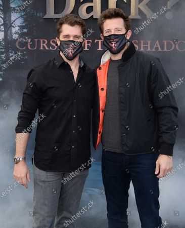 Editorial image of Nickelodeon's 'Are You Afraid of the Dark?: Curse of the Shadows' TV show drive-in screening, Rose Bowl-Court, Pasadena, Los Angeles, California, USA - 09 Feb 2021