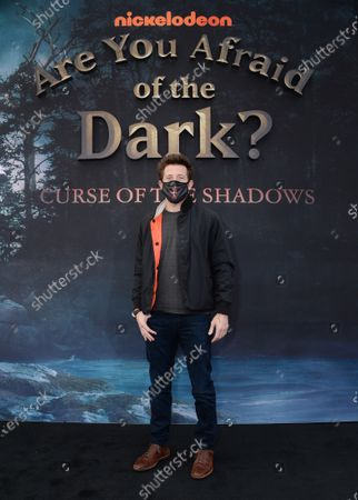 Editorial picture of Nickelodeon's 'Are You Afraid of the Dark?: Curse of the Shadows' TV show drive-in screening, Rose Bowl-Court, Pasadena, Los Angeles, California, USA - 09 Feb 2021