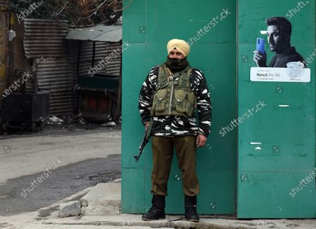 Editorial picture of 8th anniversary of the death of Afzal Guru, Kashmir, India - 09 Feb 2021
