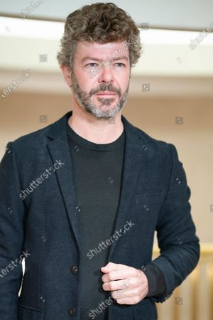 Stock Photo of opera musical director Pablo Heras Casado poses during the presentation of the opera SIEGFRIED, BY RICHARD WAGNER at the real theater in Madrid. February 9, 2021 Spain.  (Photo by Oscar Gonzalez/NurPhoto)